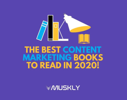 The Best Content Marketing Books to Read in 2020!