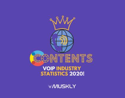 VoIP Industry Statistics 2020!